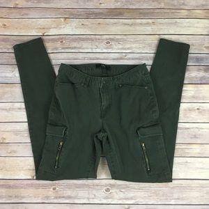 ABS by Allen Schwartz Skinny Cargo Pants